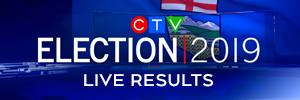 Live election results promo image