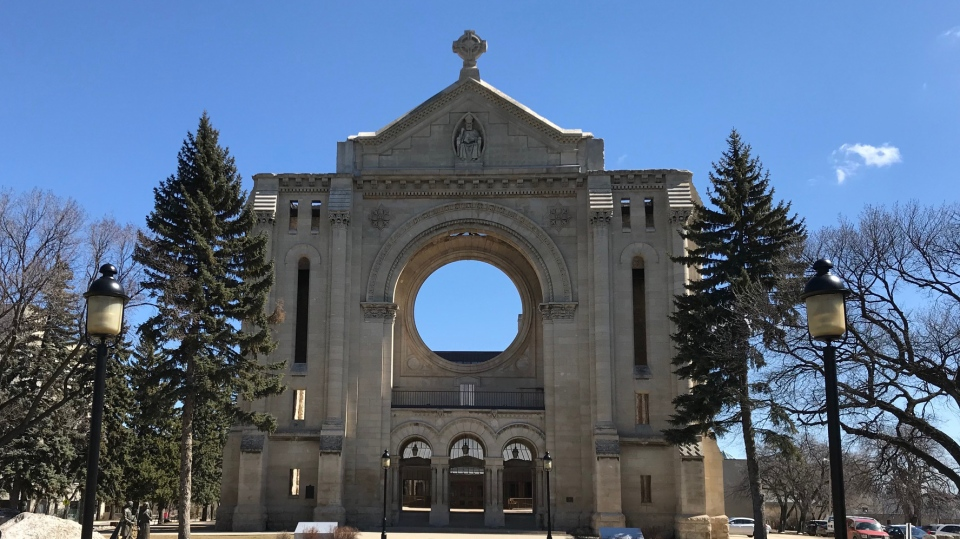 St. Boniface Cathedral (Source: Josh Crabb/CTV News)