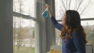 Window washing season