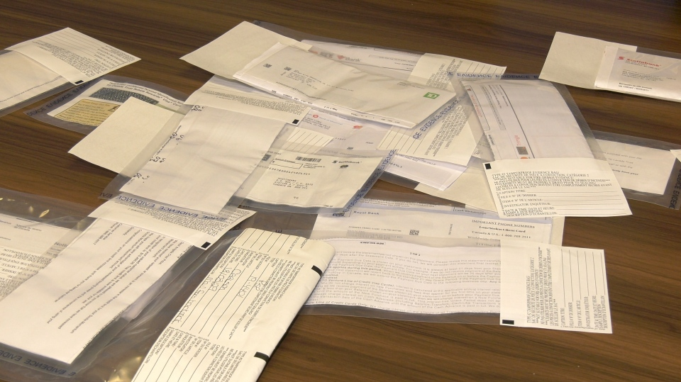 The recovered mail traces back to break-ins at more than a dozen community mailboxes in the valley in March. (CTV Vancouver Island)