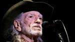 FILE - In this Jan. 7, 2017, file photo, Willie Nelson performs in Nashville, Tenn. (AP Photo/Mark Humphrey, File)