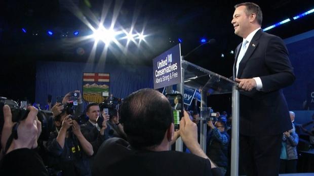 Jason Kenney S Ucp Wins Majority Government In Alberta