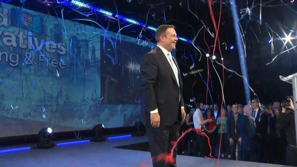 Jason Kenney election win