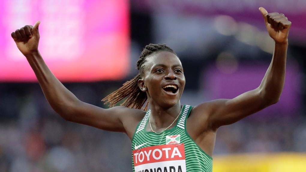 Burundi's Francine Niyonsaba