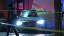 Police are investigating a targeted shooting in Vancouver's Kitsilano neighbourhood that left a man dead Tuesday night.