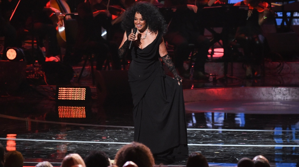 In this Feb. 12, 2019 file photo, Diana Ross performs during Motown 60: A GRAMMY Celebration at the Microsoft Theater in Los Angeles. (Photo by Richard Shotwell/Invision/AP)