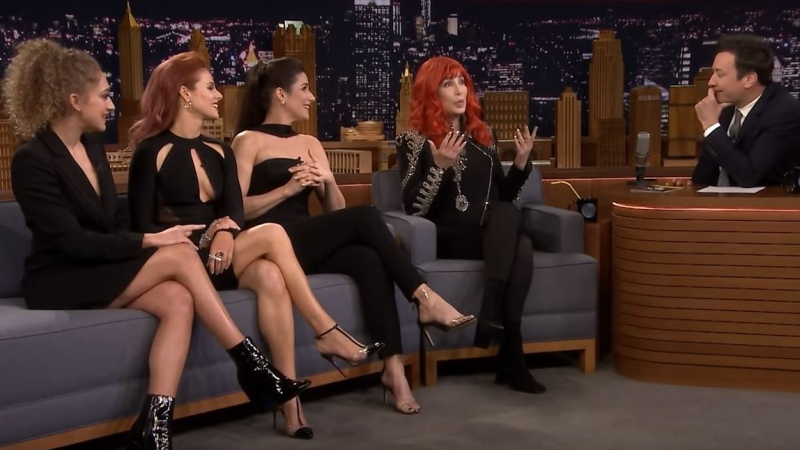 Cher on the Tonight Show with Jimmy Fallon. (Courtesy NBC)