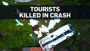 28 dead after tour bus crashes in Portugal