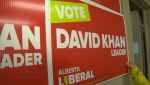Removal of David Khan campaign signs