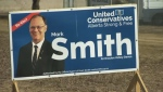UCP - Mark Smith campaign sign