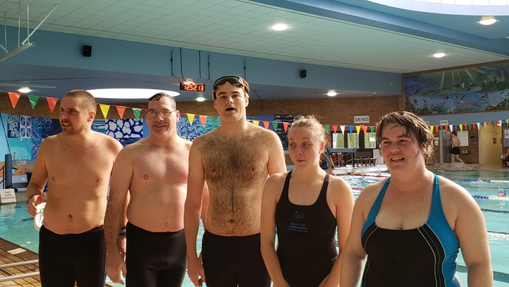 Vancouver Island Special Olympians train for long-distance swim