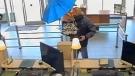 Burnaby RCMP seek 'Umbrella Bandit'