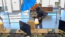 Burnaby RCMP seek 'Umbrella Bandit'