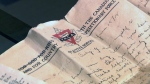 CTV National News: Lost love letters recovered