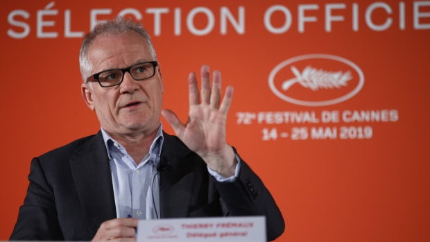 Cannes festival director Thierry Fremaux