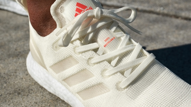 c47eec59e Adidas shows off fully recyclable running shoe