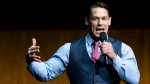 John Cena at Paramount's CinemaCon presentation on April 4, 2019, in Las Vegas, USA. (Valerie Macon / AFP)