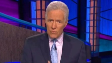 Trebek says he's 'feeling good' in video to fans
