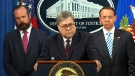 U.S. Attorney General Barr takes questions