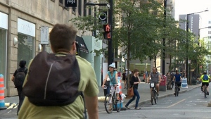 CTV Montreal: Changed rules for cyclists