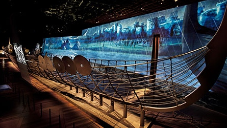 Full size replica Viking ships part of new RAM exhibition