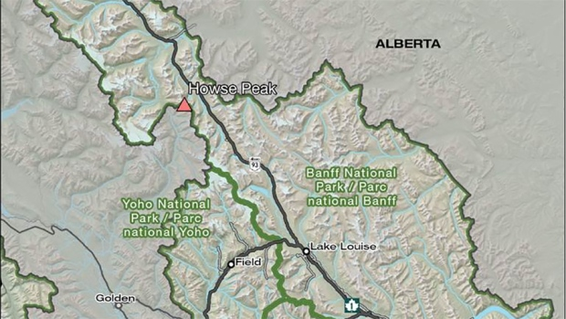 Avalanche in Banff National Park; 3 climbers presumed dead
