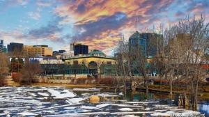 Winnipeg ushering in Spring. Photo by Michael Konik.