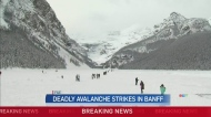 Climbers presumed dead after Banff avalanche