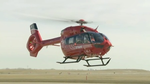 STARS Air Ambulance received the first of nine new H145 helicopters on Thursday.