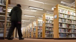 The Kingston public library, central branch is shown in Kingston Ont., on Thursday April 28, 2016. THE CANADIAN PRESS/Lars Hagberg