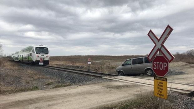 Van vs train