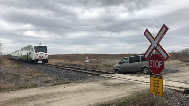 Van vs train
