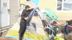 Moncton cracks down on tent city