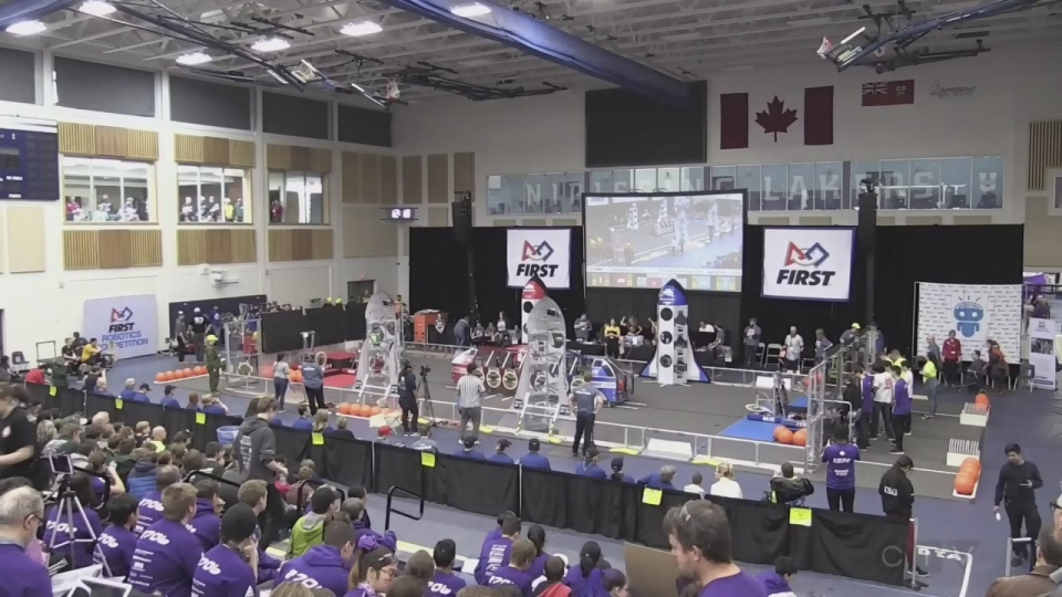 Teams build robot from the ground up in 6 weeks