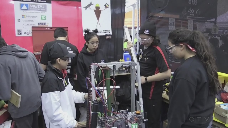 All-Indigenous robotics team from Manitoulin Island headed to Detroit for world championship.