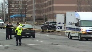 Woman struck and killed on Carling Ave.