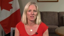 Environment Minister Catherin McKenna speaks to CTV's Power Play on Thursday, April 18, 2019.