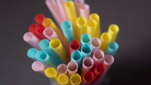 Plastic straws are pictured in North Vancouver, B.C. on Monday, June 4, 2018. THE CANADIAN PRESS Jonathan Hayward