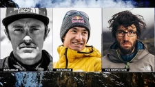Missing climbers - Banff National Park avalanche