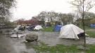 Accusations fly as Vancouver tent city grows