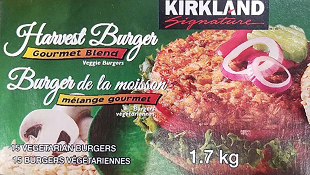 Kirkland Signature veggie burgers recalled over pieces of metal