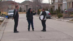 The group of homeowners in Vaughan, Ont. said they were promised a $500 grading deposit they paid would be returned to them.