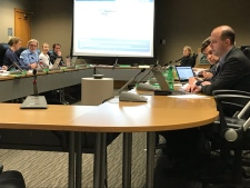 Middlesex-London Health Unit board members received a report on Thursday, April 18, 2019 on hiring slow downs following the Ontario government's plan to eliminate more than two dozen health units across the province. (Sean Irvine / CTV London)