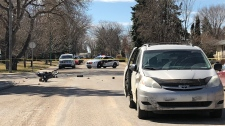saskatoon moped crash