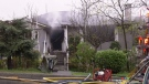 2 houses badly damaged in Burnaby fire