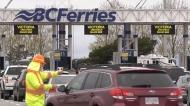 Waits at ferries, border crossings.