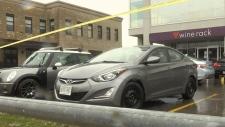 Man injured from gunshots at Waterloo plaza