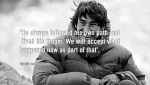 David Lama missing climber - parents' quote
