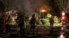 Burnaby fire sends 2 to hospital