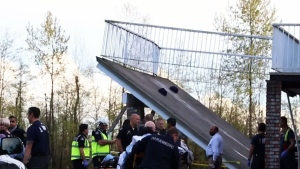B.C. deck collapses during wedding celebrations